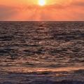Beach Sunset, Kailua Kona, Hawaii