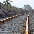 Train Tracks Near Garibaldi, Oregon