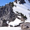 Snowy Slope (Crater Lake, Oregon)